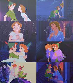 Mickey and Company Walt Disney, Cute Disney, Disney Magic, Disney Art, Disney Memes, Disney Quotes, Disney Cartoons, Peter Pan And Tinkerbell, Peter Pan Disney