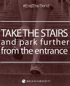 If you follow this one simple tip, you'd be surprised at how many more steps you take each day. Click to see all 15 tricks that can help you lead a healthier life! // fitness // fitspo // inspiration // motivation // quote // get fit // get healthy // weight loss // beachbody // beachbody blog