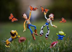 I Photograph Toy Stories By Creating Special Effects In Real Time
