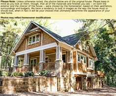 Nice new construction built in the craftsman style. The Beaucatcher Cottage at Biltmore Forest in Asheville, NC. This plan is Heated Square Feet, 4 Bedrooms and 3 Bathrooms. The master bedroom is upstairs. The plan dimensions are x