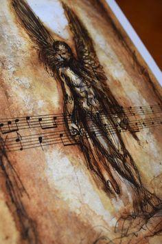 Fallen Angel Digital print Premium Satin Photo Paper 300 gm | Etsy #fallenangel #bookofenoch #angel #fallen #enoch biblical