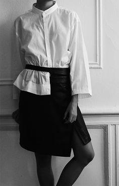 DIY-Jil-Sander-White-Shirt-Spring-2015-Inspiration-7-DeSmitten