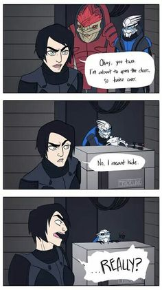 Lol. Some AI problems in Mass Effect