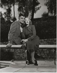 Clark Gable & Lady Sylvia Ashley, ORIG 1950