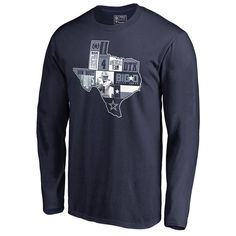 Dak Prescott Dallas Cowboys NFL Pro Line by Fanatics Branded Player State  Long Sleeve T-Shirt – Navy f78cda5db