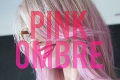 Pink Ombre Hair Tutorial