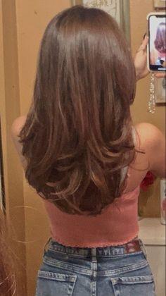 Hair Inspo, Hair Inspiration, Cut My Hair, Hair Cuts, Medium Hair Styles, Curly Hair Styles, Natural Hair Styles, Pretty Hairstyles, Baddie Hairstyles