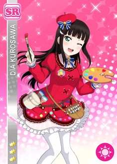 The Ultimate Resource For LoveLive! School Idol Festival players Browse & track your cards. Vote for the best girl. Kawaii Girl, Kawaii Anime, Dia Kurosawa, Apricot Blossom, Live Picture, Anime Music, Good Smile, Anime Outfits, Anime Love