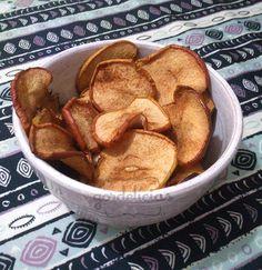 Chips de Maçã | Gordelícias