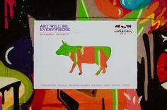 Mídia Alternativa - Cow Parade  Creative Ambient Advertising