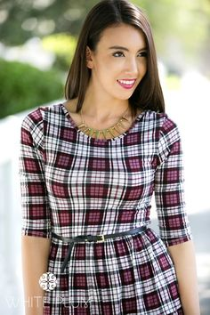 Plaid Blowout! 4 Styles!