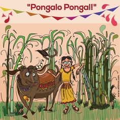 Let there be more happiness and prosperity in the lives of Indian farmers this harvest season. Happy Pongal, India Poster, Makar Sankranti, Harvest Season, Indian Festivals, Lets Celebrate, Incredible India, Farmers, Happiness