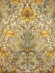 1873 Lily wallpaper