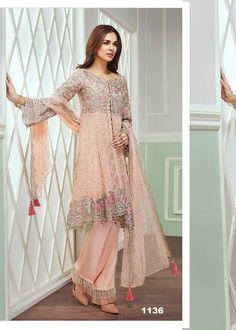 Faiza designer Pakistani Salwar Suit Elegant Indian salwar kemeez CLICK Visit link to see Pakistani Couture, Pakistani Dress Design, Pakistani Outfits, Indian Outfits, Bridal Mehndi Dresses, Nikkah Dress, Ethnic Fashion, Asian Fashion, Pink Gowns