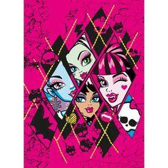 Monster High pink printable