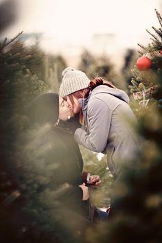 'Surprise Christmas Tree Farm Proposal' by 00281083 Farm Pictures, Winter Pictures, Christmas Pictures, Family Pictures, Christmas Couple, Christmas Tree Farm, Christmas Proposal, Engagement Pictures, Engagement Ideas