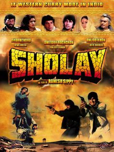 Sholay- You're not desi until you've seen this :))
