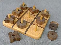 Teds Wood Working - Teds Wood Working - Fun way to play tic tac toe! - Get A Lifetime Of Project Ideas Inspiration! - Get A Lifetime Of Project Ideas & Inspiration! Tic Tac Toe, Wood Projects, Craft Projects, Project Ideas, Wooden Crafts, Diy And Crafts, Teds Woodworking, Woodworking Projects, Wood Games