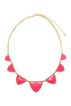 Brittany Triangle Necklace on HauteLook