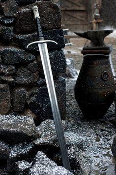 ...La spada nella roccia..