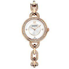 Swarovski : Aila - rose gold PVD $440