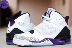 Jordan Son of Mars – White / Club Purple – Cool Grey – Black (Getting them Friday.)