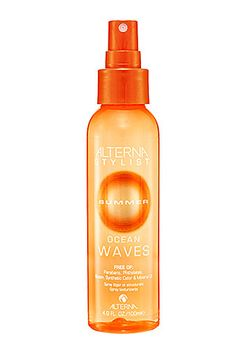 Alterna------ This is the best stuff I have ever came across! I will never touch a curling iron again for waves! I will never straighten my hair again because this stuff just makes my hair look that freaking awesome! and its free all of all the yucky stuff!