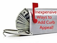 Inexpensive Curb Appeal Improvements When Selling a Home: http://www.huliq.com/13940/inexpensive-ways-add-curb-appeal-when-selling-home #realestate