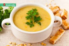 This split pea soup is a model of Moroccan food simplicity. My Moroccan Split Pea Soup is vegetarian, and so much richer than the sum of its plebeian parts Chef Recipes, Soup Recipes, Turkish Recipes, Ethnic Recipes, Yellow Lentils, Split Pea Soup Recipe, Yellow Foods, Chicken Potatoes, Lentil Recipes