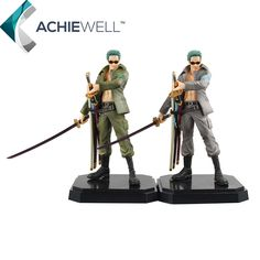 29.12$  Buy now - http://alixjg.shopchina.info/go.php?t=32676287696 - Anime One Piece Roronoa Zoro Military Style 22cm PVC Action Figure Camouflage Coat Zoro Model Cartoon Toys For Kid Gift Dolls  #magazine