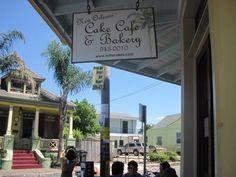 New Orleans Cake Cafe … yummmmm ...