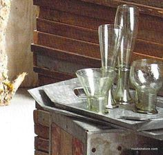 Roost Galvanized Angled Trays, Set/3 – Modish Store