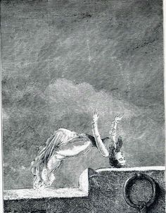 Max Ernst, Illustration to a week of kindness, 1934.