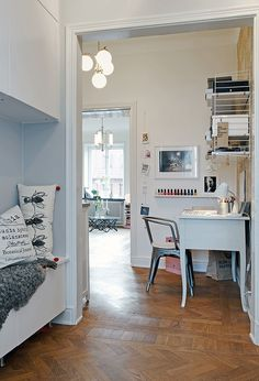 Warm Display of Scandinavian Design in a Relatively Small Home