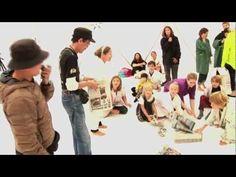 #AprenderDesaprender Arte de acción o happening.    Familjesöndag med Sadaharu Horio på Moderna Museet