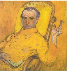 Frantisek Kupka, Self-Portrait, 1907 by kraftgenie, via Flickr