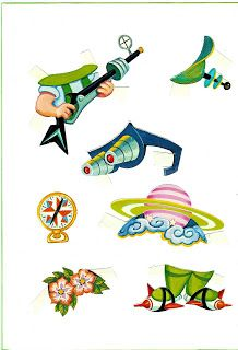 (¯`'•.♪♫Paper Dolls: The Jetsons