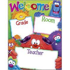 Furry Friends Welcome Chart (T-38428) #classroom #decor #AILtyler