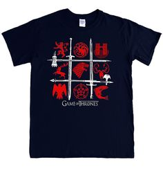 GAME of THRONES S 5XL T-shirt battle of the houses