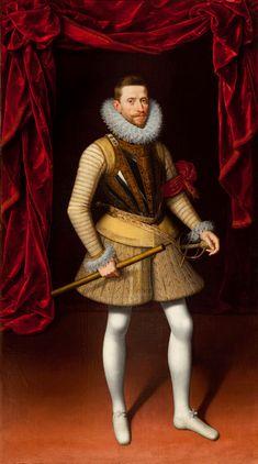 International Portrait Gallery: Retrato del Archiduque Alberto VII de Austria