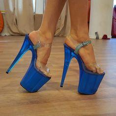 high heels – High Heels Daily Heels, stilettos and women's Shoes Sexy High Heels, Extreme High Heels, Hot Heels, Platform High Heels, Stripper Shoes, Gorgeous Feet, Stiletto Heels, Stilettos, Royal Blue