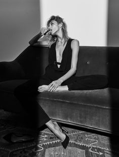 "vogue-at-heart: Anja Rubik in ""The Business Model"" for The Edit,..."