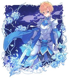 Eugeo Pics (Mostly Kirito x Eugeo) - Anime Art, Animation Film, Online Art, Art, Sword Art Online Kirito, Ice Sword, Cartoon, Anime Characters, Fan Art