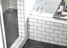 Before & After: A Modern Bathroom for a 1905 Farmhouse | Design*Sponge