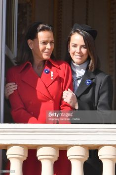 Princess Stephanie of Monaco and Pauline Ducruet attend Monaco National Day Celebrations on November 2018 in Monte-Carlo, Monaco. (Photo by Stephane Cardinale - Corbis/Corbis via Getty Images)