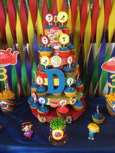 Little Einsteins Cupcake Stand