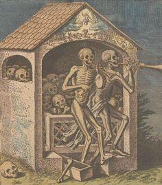 Mattheus Merian, Dance of Death, 17th century