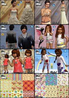 Clothing and patterns by Skysims - Sims 3 Downloads CC Caboodle