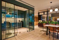Bank/Financial/Investments Designs: KEF Holdings Office, Dubai - Love That Design Bank Financial, Canteen, Dubai, Investing, Design, Home Decor, Decoration Home, Room Decor