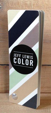Jeff Lewis Color Fan Deck / 32 Color Palette